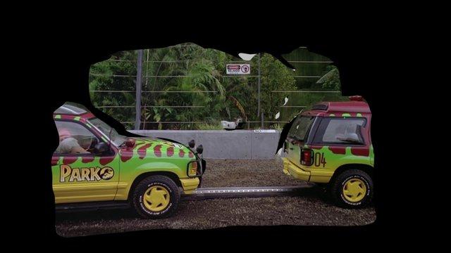 Jurassic Park - Goat 3D Model