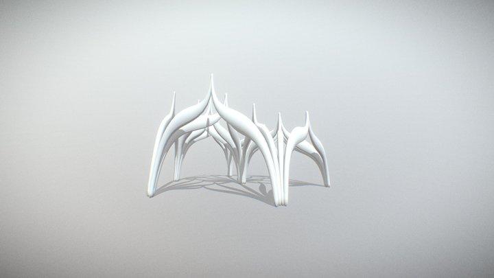 grasshopper animation 3D Model
