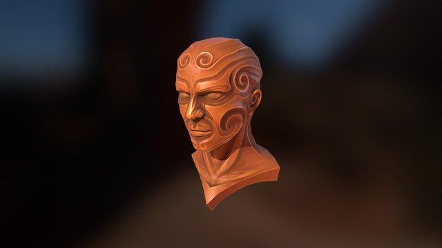 Midas Bust (work in progress) 3D Model
