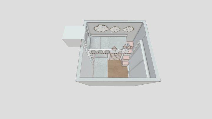 瑞麟閣06室 3D Model