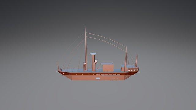 Buque Bae Calderón 3D Model