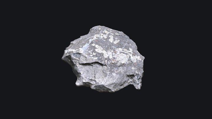 Scanned Rock Annecy v1 3D Model