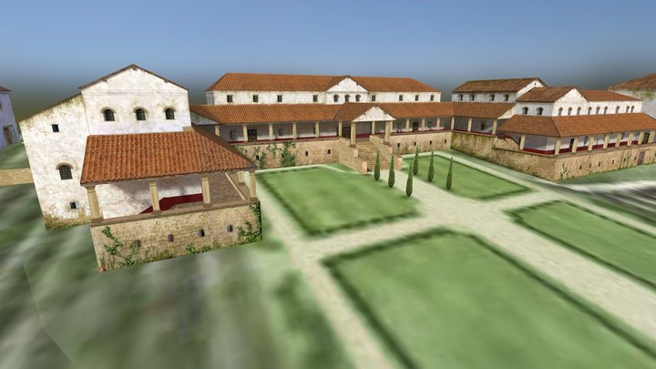 Roman Villa at the Weilberg 3D Model