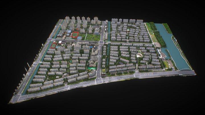 上海奉贤区北 3D Model