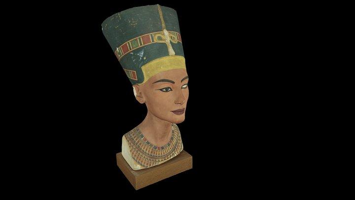 Nefertiti Bust 3D Model