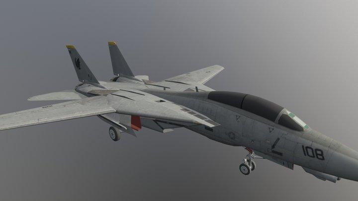 F-14 Tomcat Top Gun (Gear Down) Downloadable 3D Model