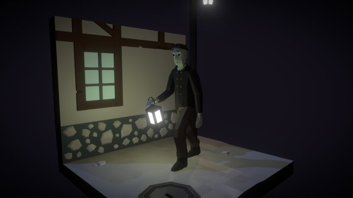 The Shadow Over Innsmouth - The Deep Ones 3D Model