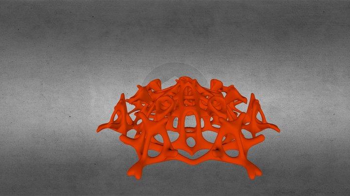 Cardon Pendant Colors 3D Model