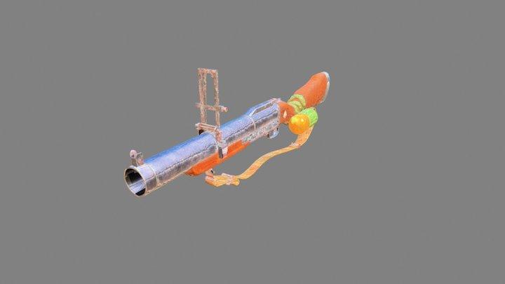 M79 Greande Launcher 3D Model