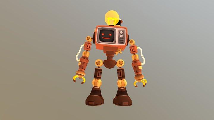 YoBot 3D Model