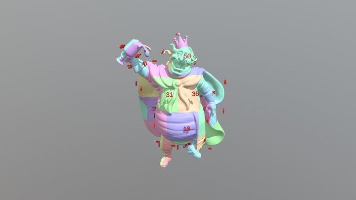 ReyBorracho3_80md 3D Model