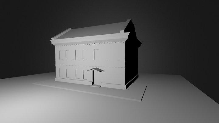 House WIP 3D Model