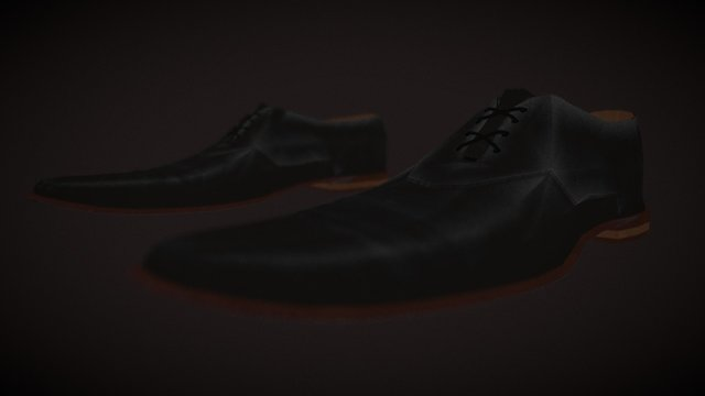 Getting to 2nd base shoes 3D Model