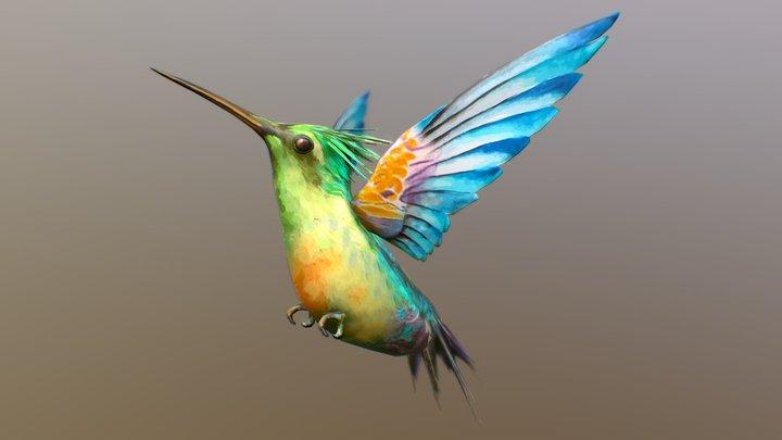 Hummingbird | Flying 3D Model