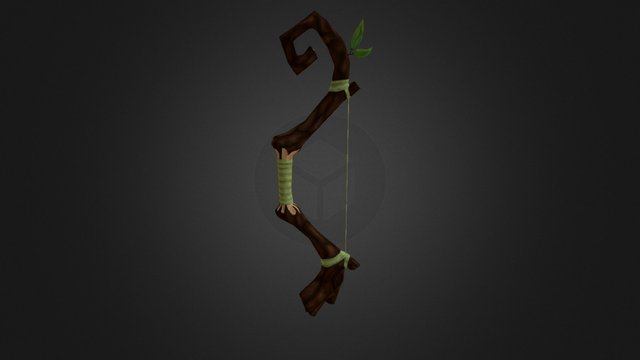 Bow Rigged Final 3D Model