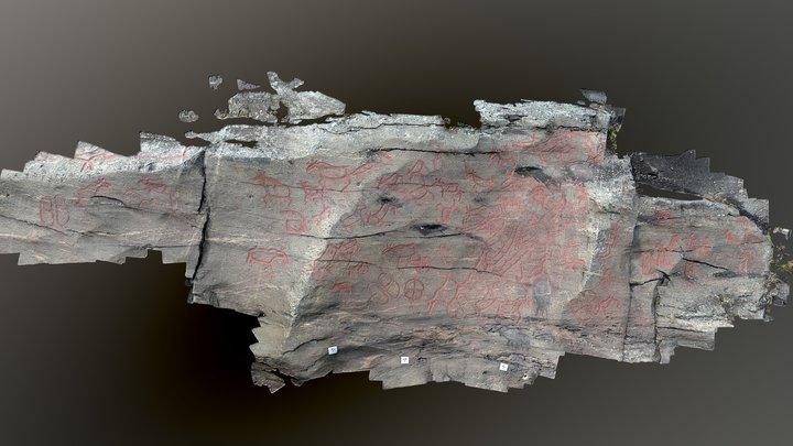 Nämforsen, Brådön E4-6, Ådals-Liden 193:1 3D Model