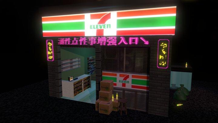 7 Eleven 3D Model