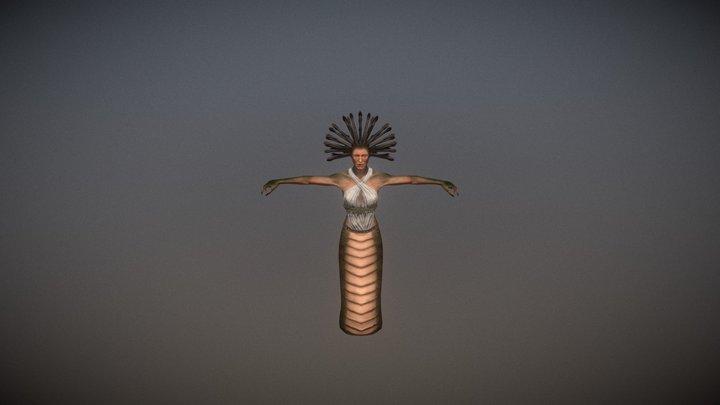 Medusa Pack PBR (Serpent Version) 3D Model