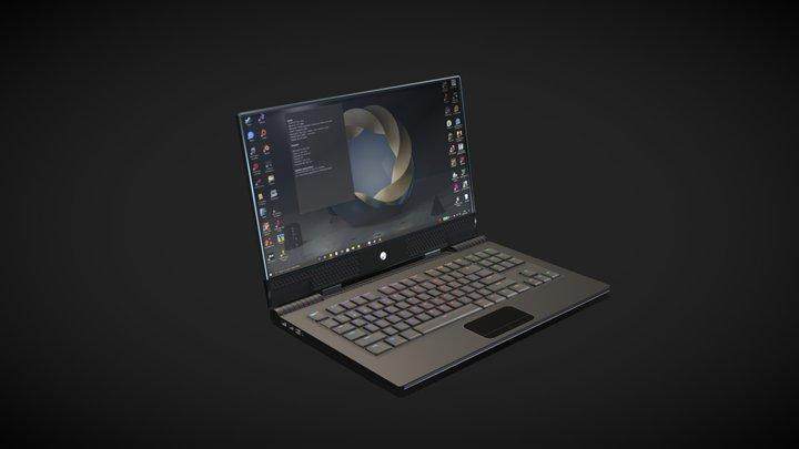 Gaming Laptop 3D Model