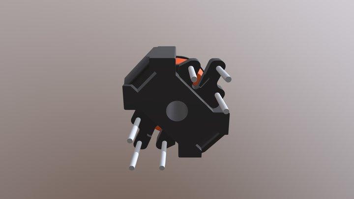 RM4-6P-SS Złożenie 3D Model