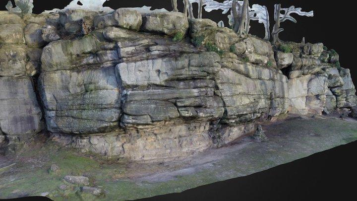 Bowles Climbing Rocks FBX & MTL upload 3D Model