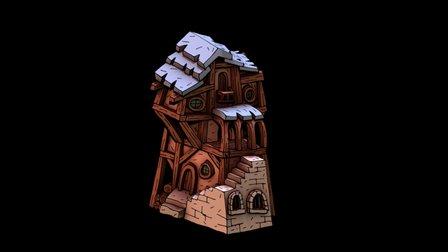 House 02 3D Model