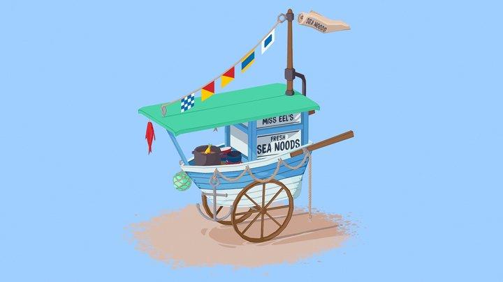Miss Eel's Fresh Sea Noods 3D Model