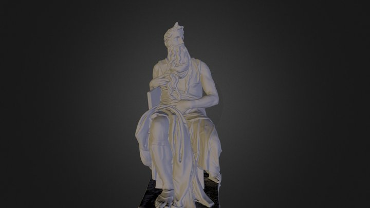 Moses By Michelangelo 3D Model
