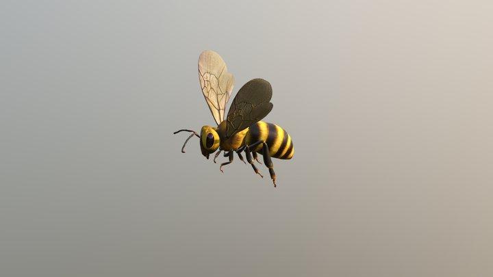 Flying Bee 3D Model