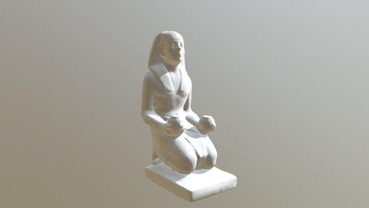 Egyptian Figure 3 3D Model