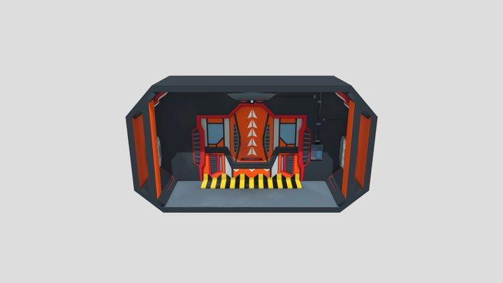 TP2 - Module - Sci-fi 3D Model