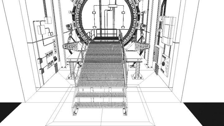 Porte Des Etoiles 3D Model