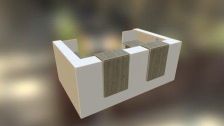 Hasler Reception 2 3D Model