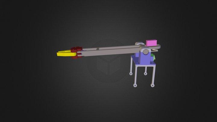 Radix Robot Arm Assembly 3D Model