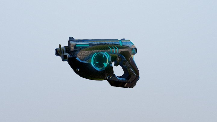 Tracer - weapon 3D Model