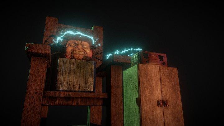 Electrocuted: Pumpkin Carving Challenge 3D Model