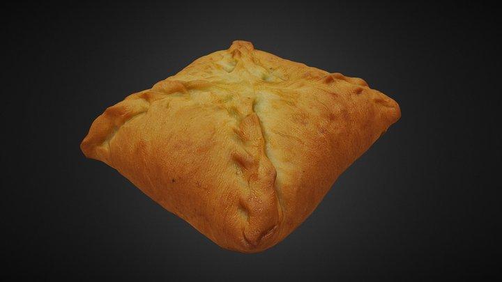 Meat pie 3D Model