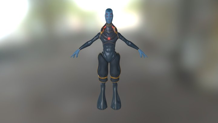 The Scout (Alien) 3D Model