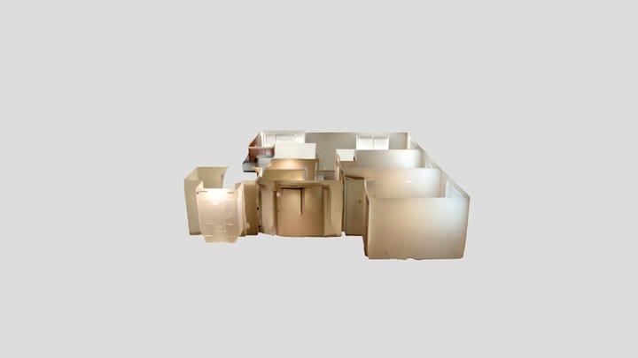 3D Scan of apartment 3D Model
