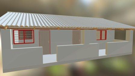 Zambia Kliniek 3D Model