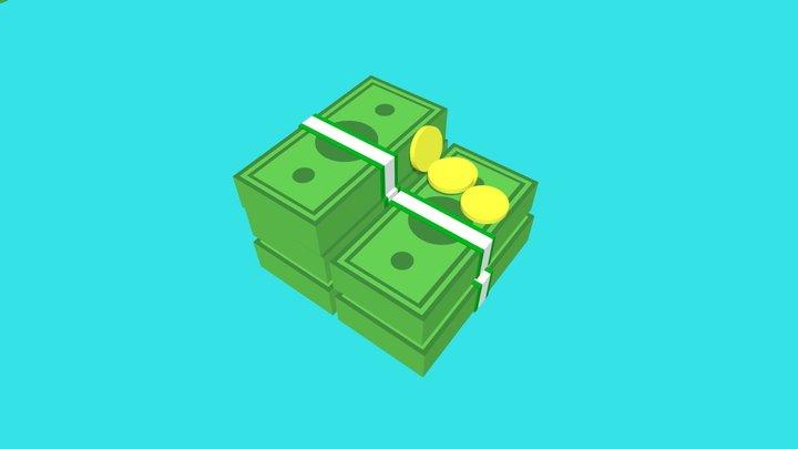 Money - Lowpoly 3D Model