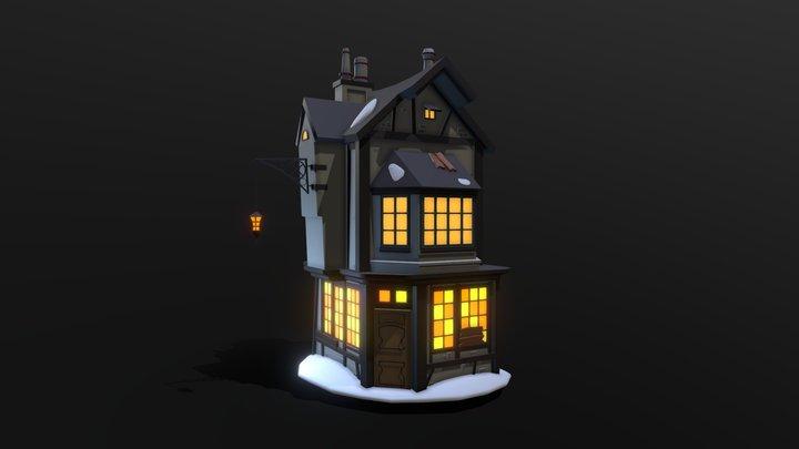 XYZ Homework_06 - details ( №2 Old Hotel) 3D Model
