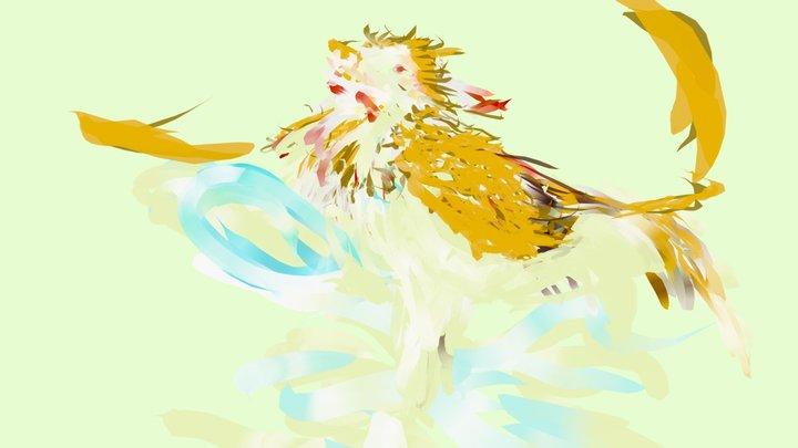 Chalongoi - Mythical bird 3D Model