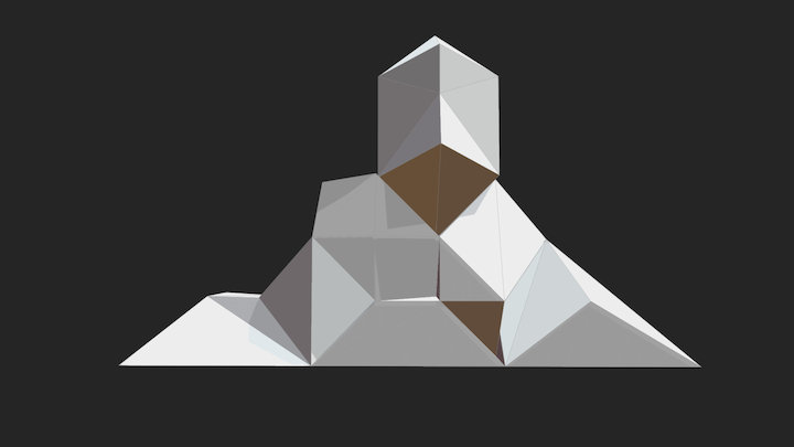 Projet1 Sceno Gantelet 3D Model