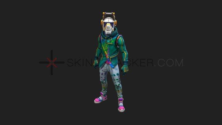 Fortnite - DJ Yonder 3D Model