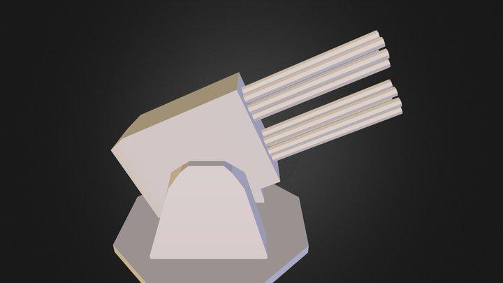 turreta.obj 3D Model