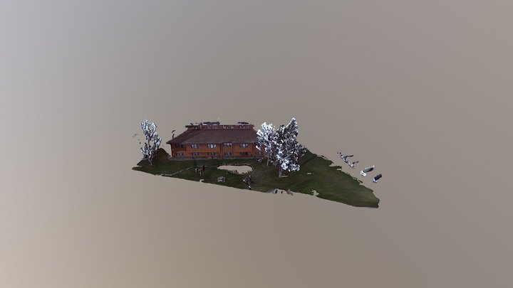 Overall Courtyard 3D Model