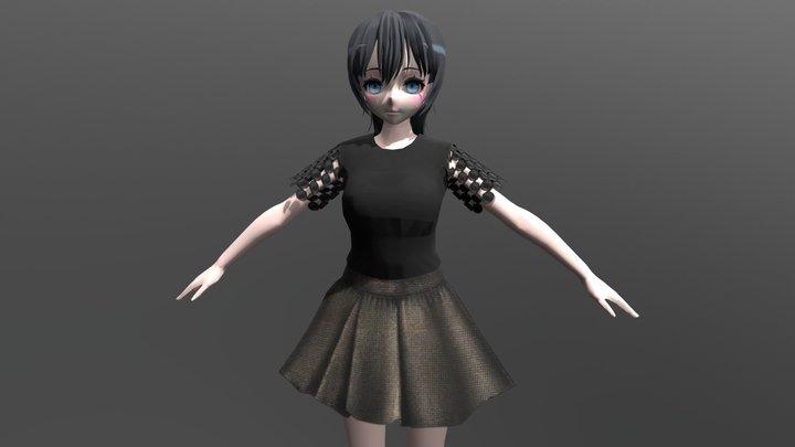 Brenda - FBX Rigged Character 3D Model