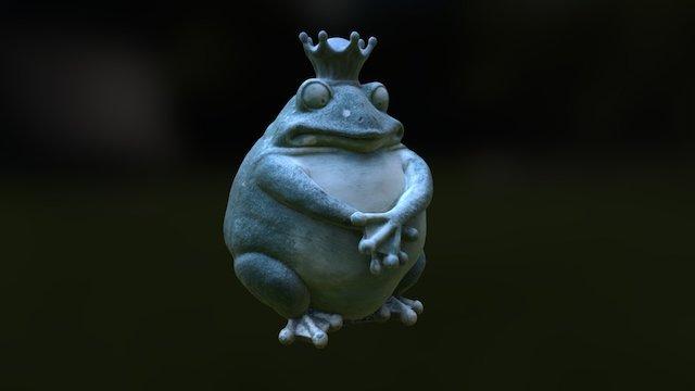 Toad King 3D Model