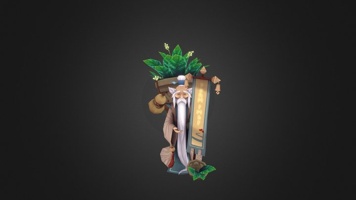Onggia 3D Model